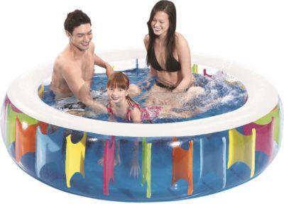 Jilong Giant Rainbow Pool - transparenter Kinde...