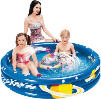 Ufo Splash Pool   Kinder Planschbecken Mit Wassersprüher, Für Kinder Von 2    6 Jahren