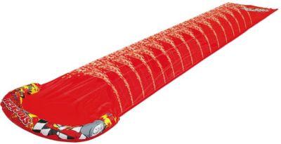 Single Water Slide - Wasserrutsche / Rutschbahn für Kinder mit Sprühfunktion, 500x90 cm