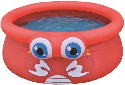 Jilong Crab Pool - roter Kinder Quick-up Pool m...