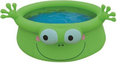 Jilong Frog Pool - grüner Kinder Quick-up Pool ...