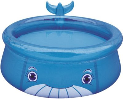 Jilong Whale Pool - blauer Kinder Quick-up Pool...