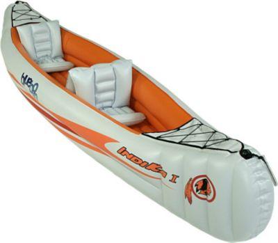 Blueborn  Boat Indika 1 - 2 Personen Kanu 320x80cm (Tragfähigkeit 165 kg)