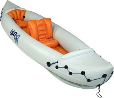 Blueborn  Boat Lakeside SK320 - 2 Personen Kajak mit Spritzdecken 315x80cm (Tragfähigkeit 165 kg)