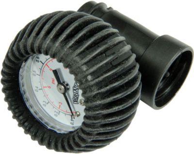 Blueborn  SP 90 SUP - Manometer für Doppelhubpumpen zum Aufschrauben zwischen Pumpe und Schlauch