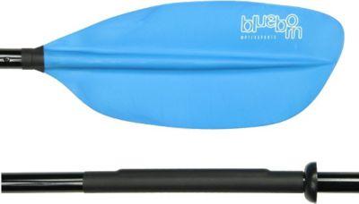 Blueborn  XT-Fibre 225 - Fiberglas Doppelpaddel 225cm, asymetrische verstellbare Paddelblätter, 1050g