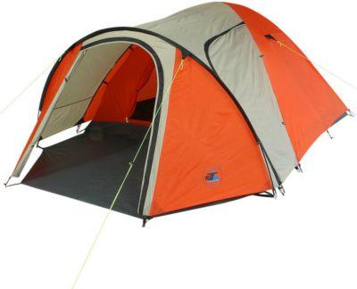 10 T Outdoor Equipment 10T Jumbuck 4 - 4 Personen Kuppel-Zelt mit Vorraum, 2 Eingänge, 5000mm
