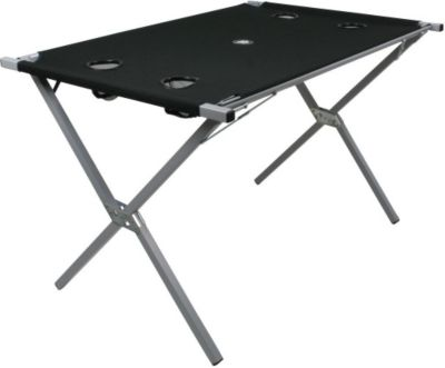 10T Polytab Double - Mobiler Camping-Tisch mit ...