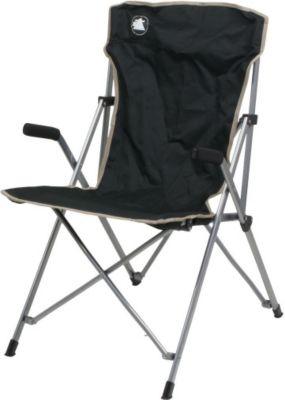 10T Slimboy - Faltbarer Camping-Stuhl gepolsterte Armlehnen sehr handlich inkl. Tasche