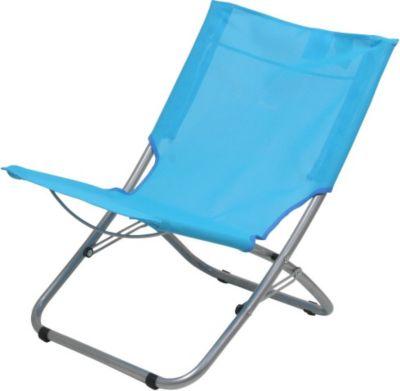 10 T Outdoor Equipment 10T Sunchair XL Textilene Strandstuhl klappbarer Campingstuhl bequemer Klappstuhl robuste Sonnenliege mit luftdurchlässigem Sitz-Bezug und Tragegriff