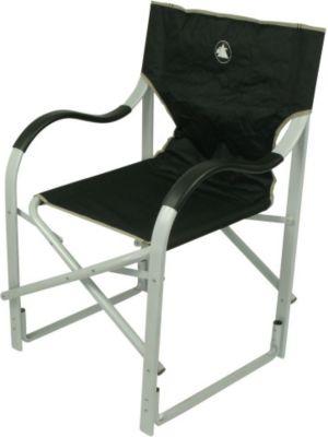 10 T Outdoor Equipment 10T Alloydirector - Alu Camping-Stuhl Regiestuhl mit Armlehnen faltbar 3900g leicht