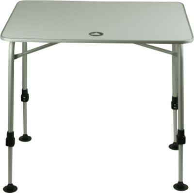 10 T Outdoor Equipment 10T Flaprack Single - Camping Klapp-Tisch 80x60cm Aluminium stabile Tischplatte Teleskopbeine stufenlos