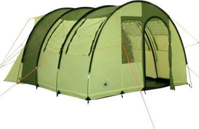 10 T Outdoor Equipment 10T Camping Vorzelt Carlile freistehendes Busvorzelt mit Schlafkabine, Zelt für 2 Personen, Familienzelt mit Wohnraum, Tunnelzelt mit Anschluss an Aut
