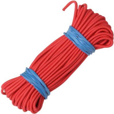 10 T Outdoor Equipment 10T Stangengummi Elastic Ø 2,2mm Länge 10 Meter elastischer Kordel Faden zum Verbinden von Fibergals Zeltstangen Verbindungsgummi Gunmmiband elastisch