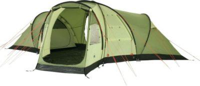 10 T Outdoor Equipment 10T Highhills 6 - 6-Personen Kuppel-Zelt getrennter Wohn- und Schlafbereich eingenähte Bodenwanne WS=5000mm