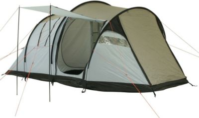 10T Wilton 4 - 4-Personen Apsis Tunnel-Zelt mit Voll-Bodenplane Vorraum + teilbare Innenkabine WS=5000mm