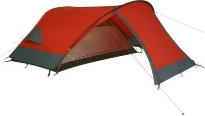 10T Silicone Biker - 2-Personen Touren-Geodät-Zelt mit großer Apsis silikonisiert Alu-Gestänge Packmaß 18x45 WS=5000mm