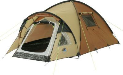 10 T Outdoor Equipment 10T Glenhill 2 - 2-Personen Kuppel-Zelt mit Tunnel-Apsis Innenkabine 2-Eingänge Fenster WS=5000mm