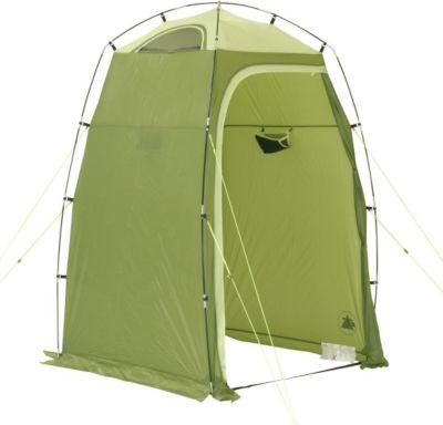 10 T Outdoor Equipment 10T Greenwater - Dusch-Zelt Umkleide-Zelt 130x130x210cm mit Ablagefach und Belüftung WS=5000mm