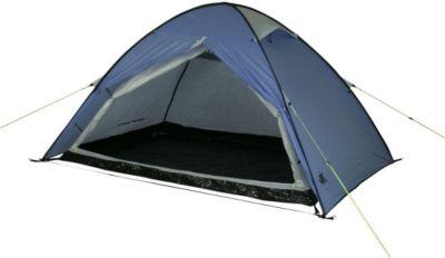 10 T Outdoor Equipment 10T Camping-Zelt Easy 2 Pop-Up Wurfzelt mit Schlafkabine für 2 Personen Automatik-Zelt mit eingenähter Bodenwanne, Dauerbelüftung, wasserdicht mit 500