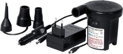 DC-AC Pump - Elektro Luftpumpe für 230V Steckdosen oder 12V Anschluß (Zigarettenanzünder) mit max. 2500 Pa Pumpendruck