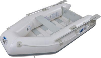 Z-RAY I 300 BOAT Set - 3 Personen Tender Boot mit Paddel, Pumpe, Sitzbank und Lattenrost Boden, Motor bis 5 PS möglich