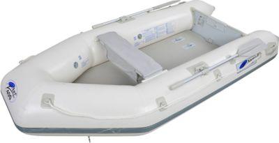 Z-RAY III 400 BOAT Set - 3+1 Personen Tender Boot mit Paddel, Pumpe, Sitzbank und Drop-Stich Boden, Motor bis 9 PS möglich