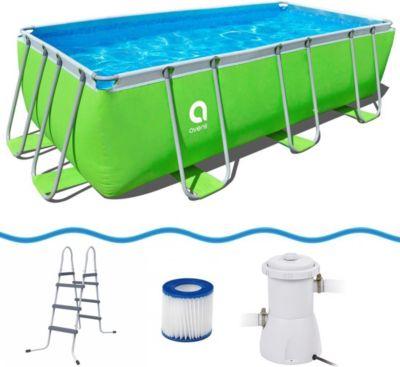 Schwimmbecken mit pumpe preisvergleich die besten for Pool set angebote