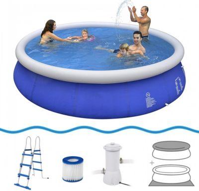 schwimmbecken mit pumpe preisvergleich die besten angebote online kaufen. Black Bedroom Furniture Sets. Home Design Ideas