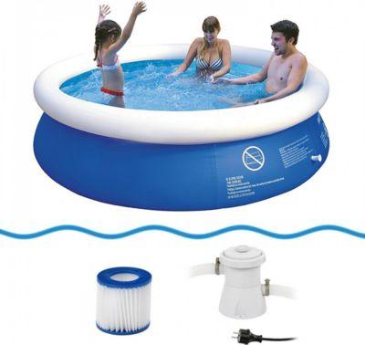 schwimmbecken mit pumpe preisvergleich die besten. Black Bedroom Furniture Sets. Home Design Ideas