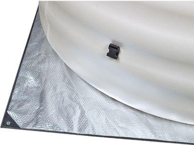 Avenli  Spa Heat Saver Mat - Bodenplane für SPA, Whirlpool, Jacuzzi Ø 198cm