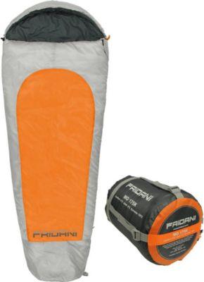 Fridani MO175K Camping Schlafsack bis -19°C XL Kinderschlafsack 175x70cm Hüttenschlafsack mit 1450g, Outdoor Mumienschlafsack für 3 / 4 Jahreszeiten Frühling Sommer Herbst