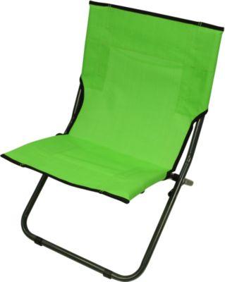 BCG 620 XXL Textilene Strandstuhl klappbarer Campingstuhl bequemer Klappstuhl robuste Sonnenliege mit luftdurchlässigem Sitz-Bezug und Tragegriff