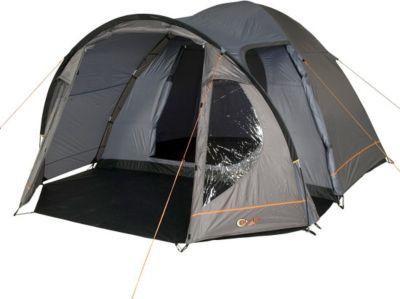 Camping-Zelt Delta 5 Kuppelzelt mit Schlafkabine für 3 Personen Outdoor Familienzelt mit Wohnraum, Dauerbelüftung, Bodenplane, wasserdicht mit 4000mm Wassersäule