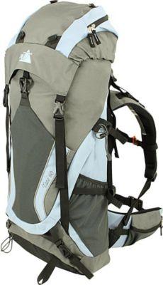 10 T Outdoor Equipment 10T Tate 60L XL Rucksack Trekkingrucksack mit Regenschutz Reiserucksack Rückenlänge Hüft- & Schulter-Gurte einstellbar Wanderucksack mit Fächern T