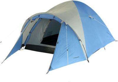 Fridani  Camping Zelt DSB 300 Kuppelzelt mit Schlafkabine für 3 Personen Outdoor Familienzelt mit Vorraum, Belüftung, wasserdicht mit 3000mm Wassersäul