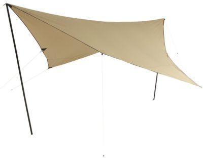 10T Tarp T/C 3x3 m Sonnensegel UV 80+ Sonnenschutz wasserdichtes Sonnendach Baumwoll-Mischgewebe | Garten > Sonnenschirme und Markisen > Sonnensegel | 10T Outdoor Equipment