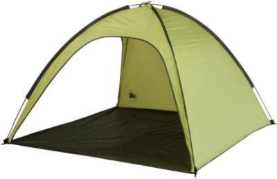 10 T Outdoor Equipment 10T Aruba UV 50+ - Strandmuschel 180x180x120cm Wind- & Sonnenschutz mit Bodenplane