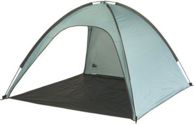 10 T Outdoor Equipment 10T Antigua UV 50+ - Strandmuschel 180x180x120cm Wind- & Sonnenschutz mit Bodenplane