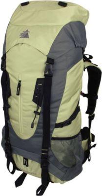 10 T Outdoor Equipment 10T Townsend 65L XL Rucksack Trekkingrucksack mit Regenschutz Reiserucksack Rückenlänge Hüft- & Schulter-Gurte einstellbar Wanderucksack mit Fäche