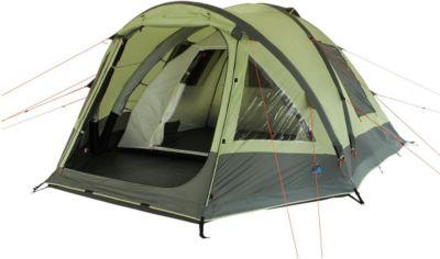 10 T Outdoor Equipment 10T Camping-Zelt Ceres 5 aufblasbares AirTube Kuppelzelt mit Schlafkabine für 5 Personen Outdoor Familienzelt mit Wohnraum, eingenähte Bodenwanne, was