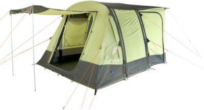 10 T Outdoor Equipment 10T Camping Vorzelt Triton aufblasbares Busvorzelt mit eingenähter Bodenwanne, freistehendes Familienzelt mit Wohnraum, Tunnelzelt mit Zelt Anschluss