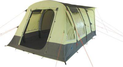 10 T Outdoor Equipment 10T Camping Vorzelt Proteus aufblasbares Busvorzelt mit eingenähter Bodenwanne, freistehendes Familienzelt mit Wohnraum, Tunnelzelt mit Zelt Anschluss