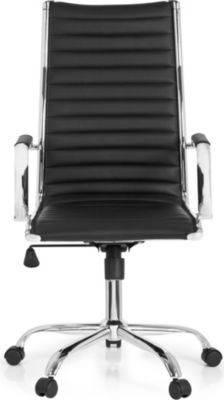 hjh OFFICE Profi Chefsessel VEMONA 20 mit Armlehnen | Büro > Bürostühle und Sessel  > Chefsessel | Kunstleder | hjh OFFICE