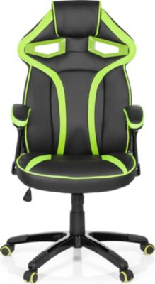 hjh OFFICE Chefsessel Racingchair GUARDIAN Fabr...