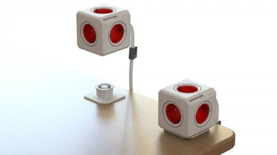 PowerCube Extended DE, 5x Steckdosen Mehrfach Verteiler mit 1,5 m Verlängerung, 230V Schuko