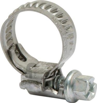 Schlauchschelle Edelstahl W2 Bandbreite 7.5 mm Spannbereich 8-12 mm 100 Stück