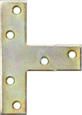 T-Flachwinkel  140 X 110 X 30 X 2 mm Stahl verzinkt  1 Stück 1670385000