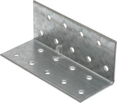 Eckwinkelverbinder 40 X 40 X 100 X 2 mm Stahl verzinkt 1 Stück