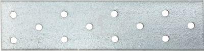 Lochplatten 300 X 100 X 2 mm Stahl verzinkt 1 Stück